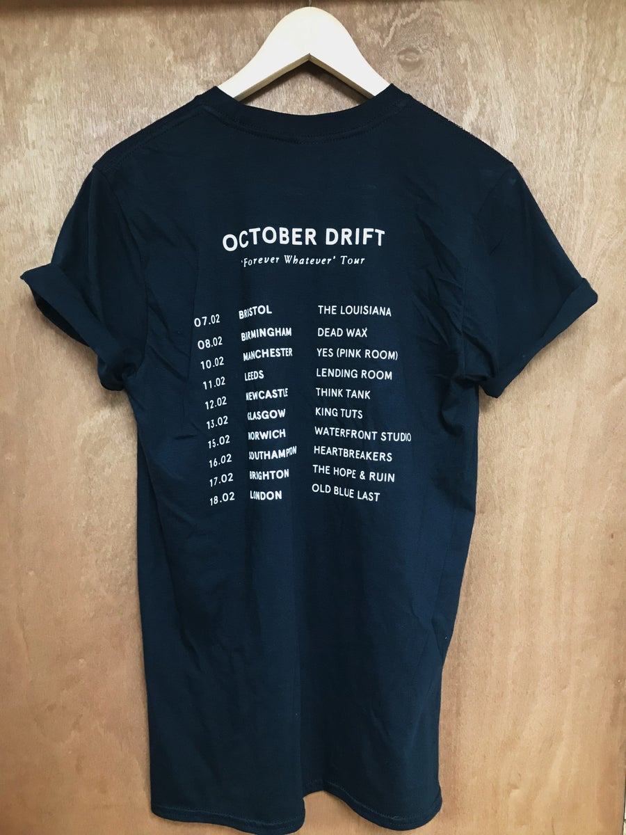 Image of FOREVER WHATEVER TOUR T SHIRT