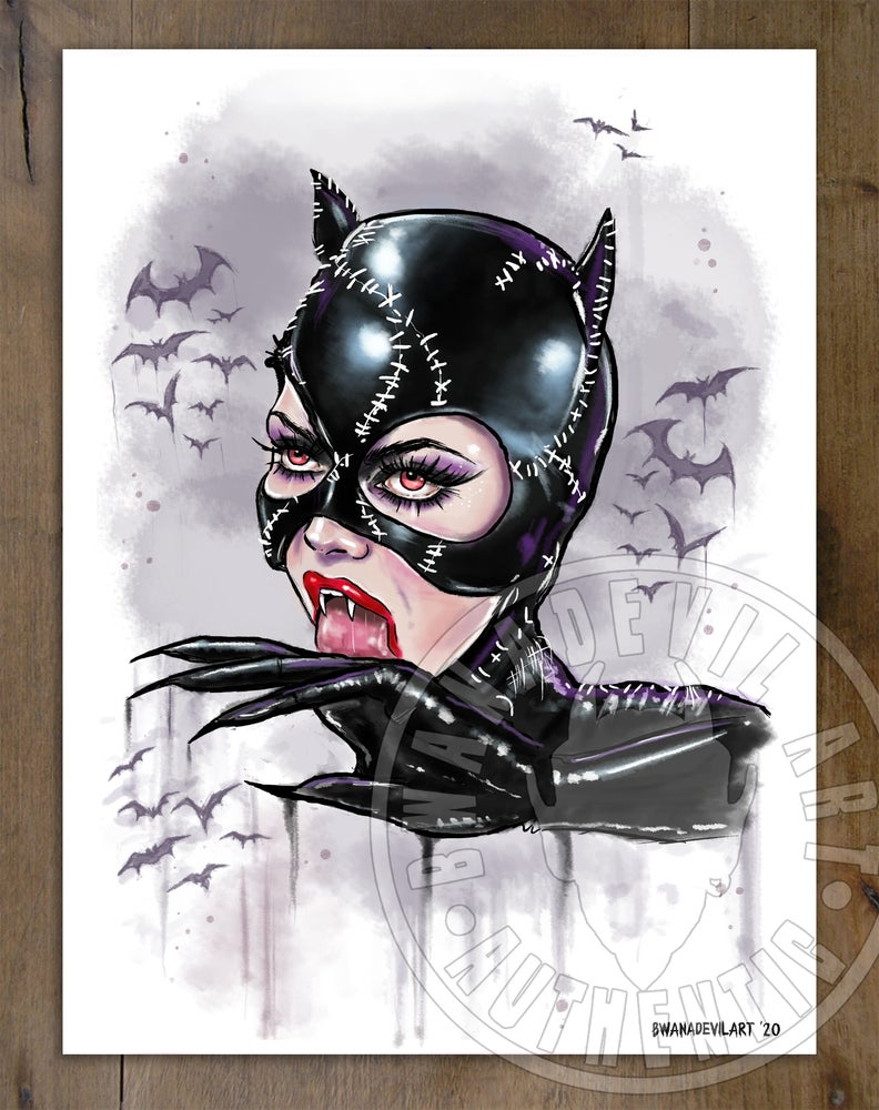 Image of Catwoman (Selina Kyle) art print