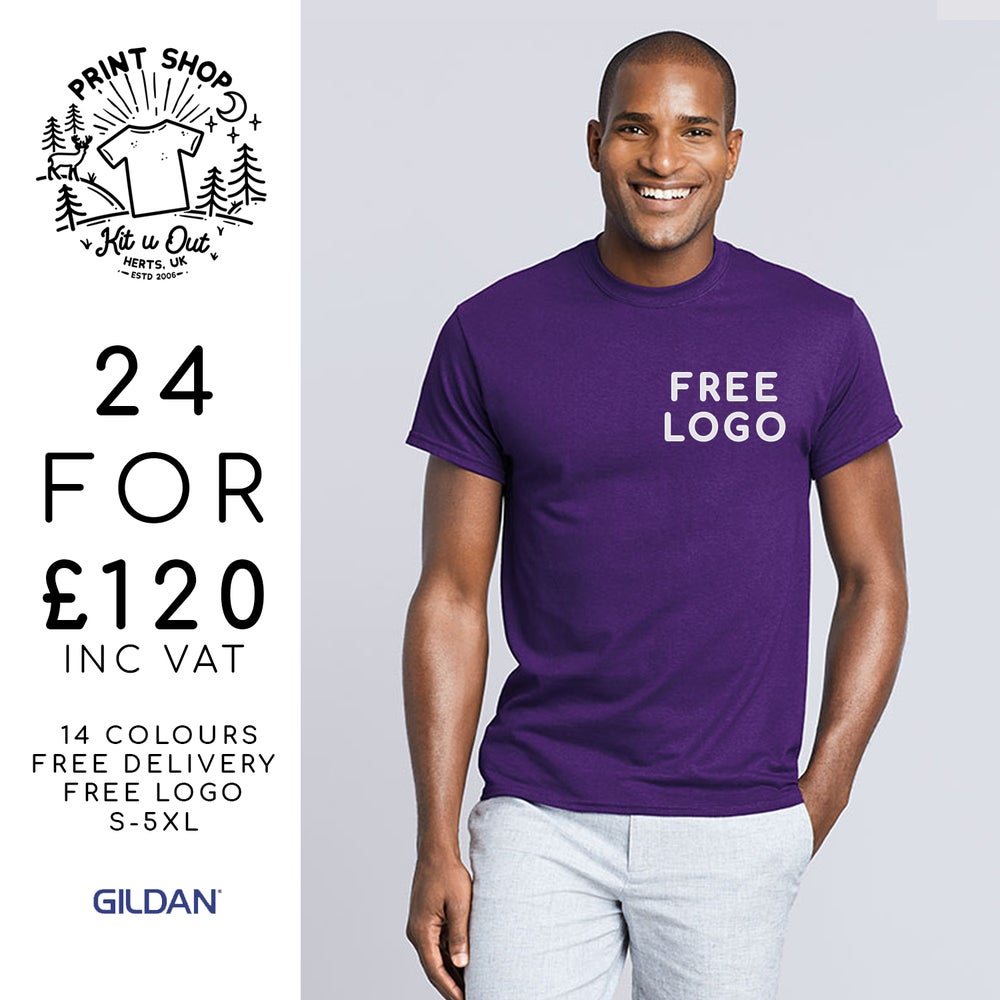 Image of 24 GILDAN 5000 T-SHIRTS DEAL