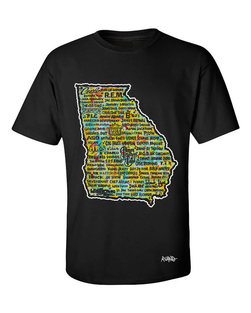 Image of Georgia Music Land t shirt