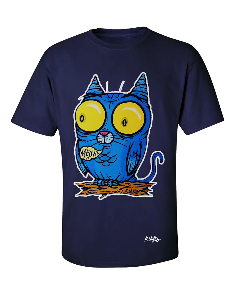 Image of New! Glow -in-the -dark Meowl? shirt