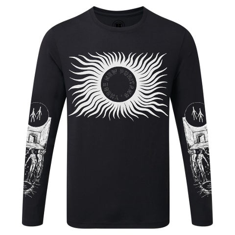 Image of BEYOND BLACK SUNS • LONG SLEEVE T-SHIRT