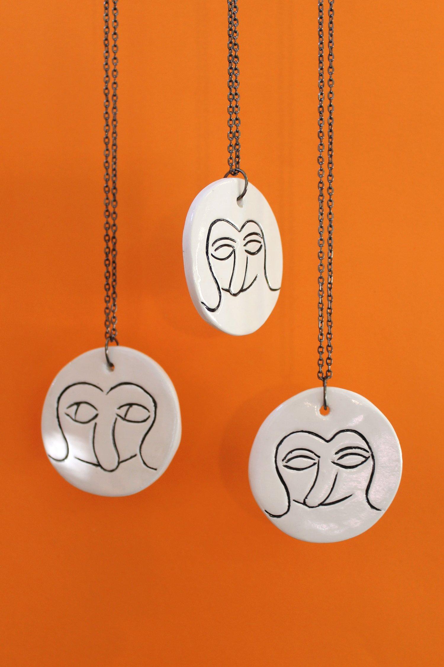 Image of 'Goof Medal' Pendant