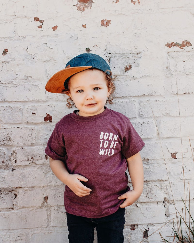 Image of BORN TO BE WILD TEE