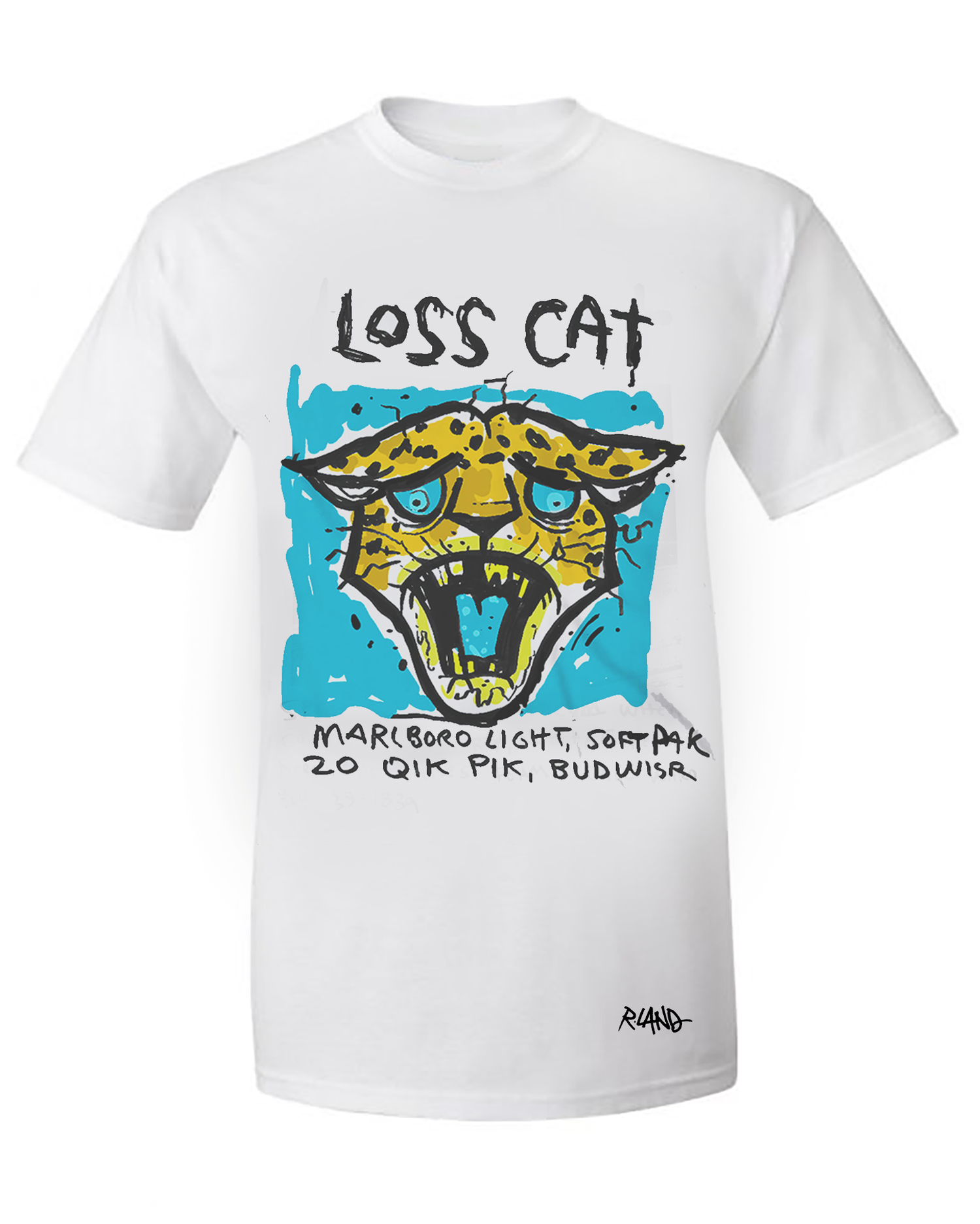 Image of New! Loss Jag limited edition tee