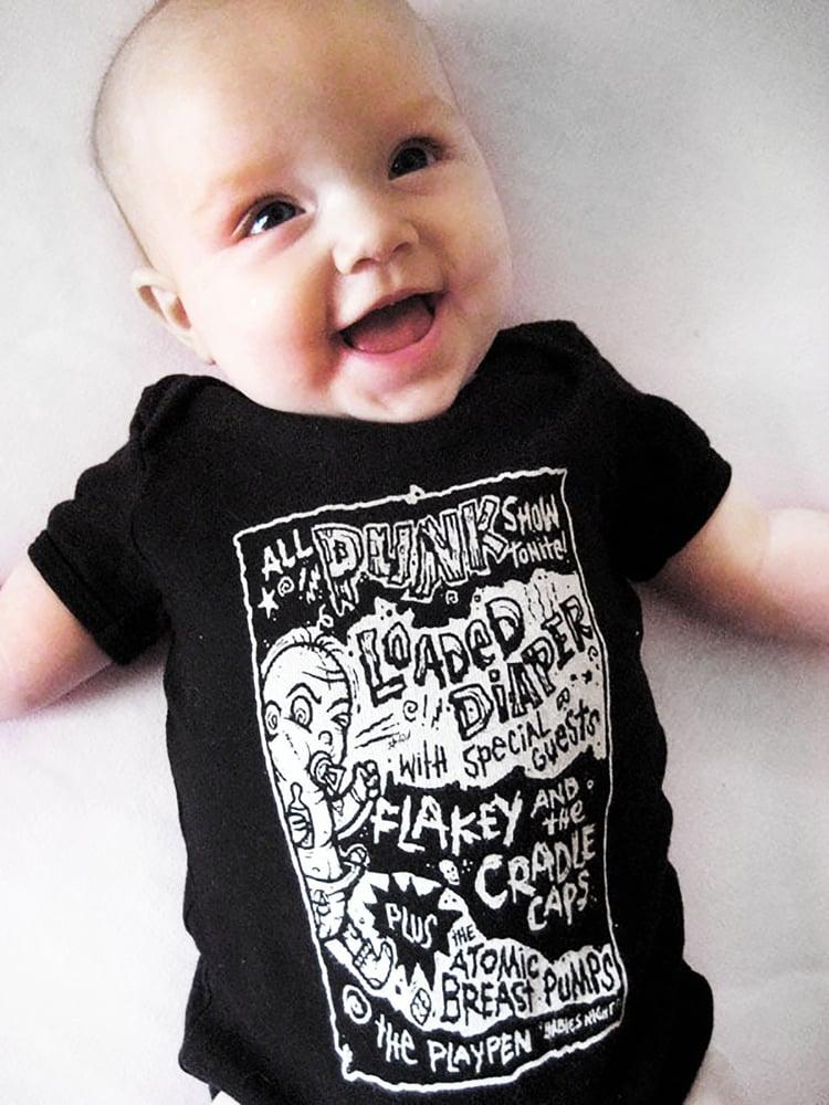 Image of Punk Rock Baby Onesie