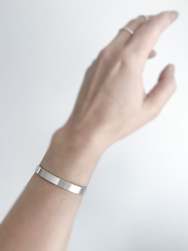 Image of Fundamental Silver Cuff