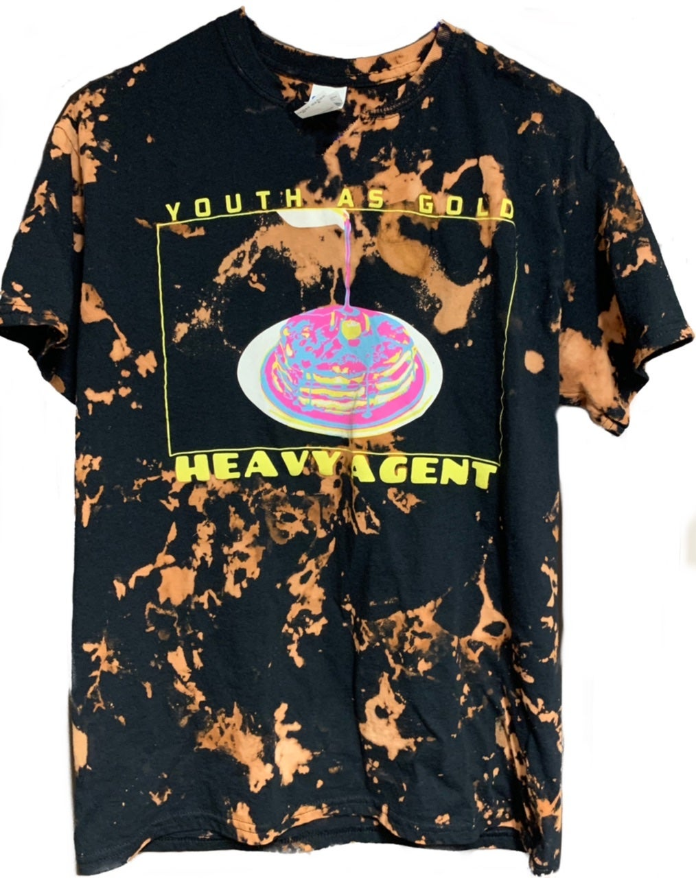 Image of Heavy Agent Bleach Dye Tee