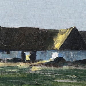 Image of Mid Century Swedish Painting, 'Twilight,' BENGT HILLGRUND