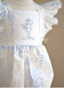 Image 2 of Spring Toile 'Mary Jane'  Bubble