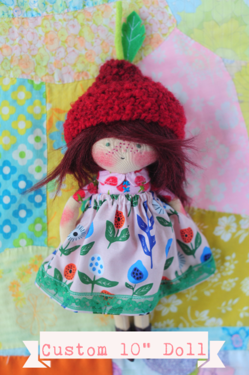 "Image of Custom 10"" Boy or Girl Doll"