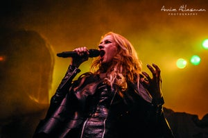 Image of Jill Janus of Huntress photo poster print Charity edition