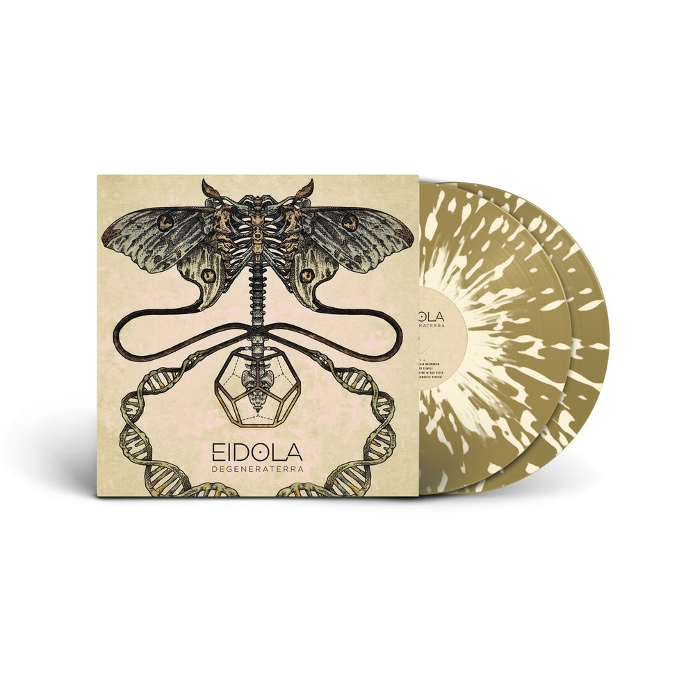 Image of Eidola Gold Splatter Double Vinyl Gatefold