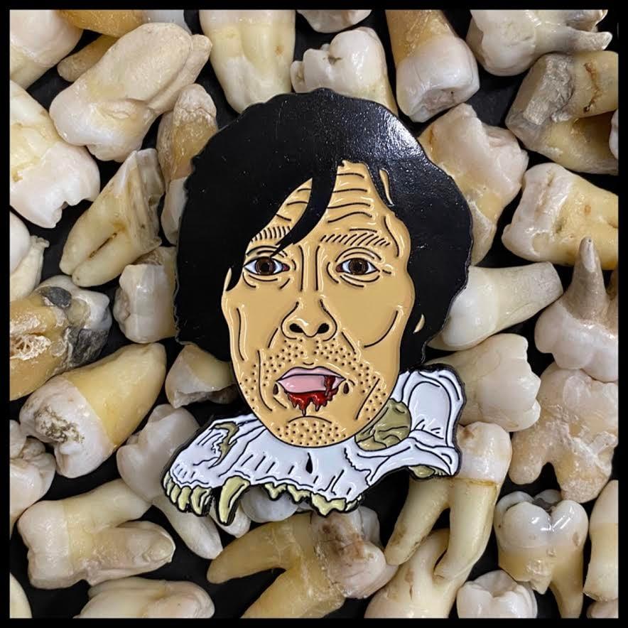 Image of Serial Killer Richard Chase Soft Enamel Pin
