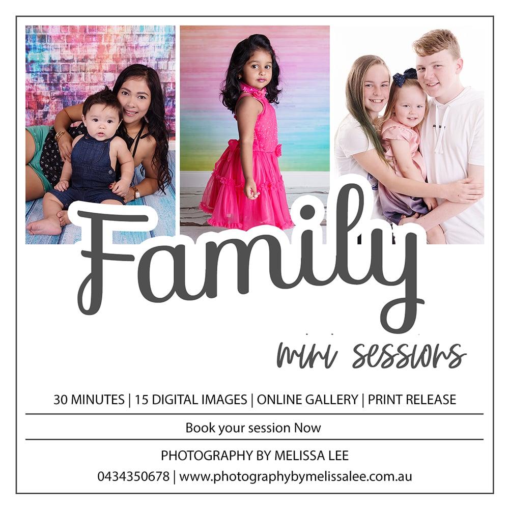 Image of Family Portrait Mini Session