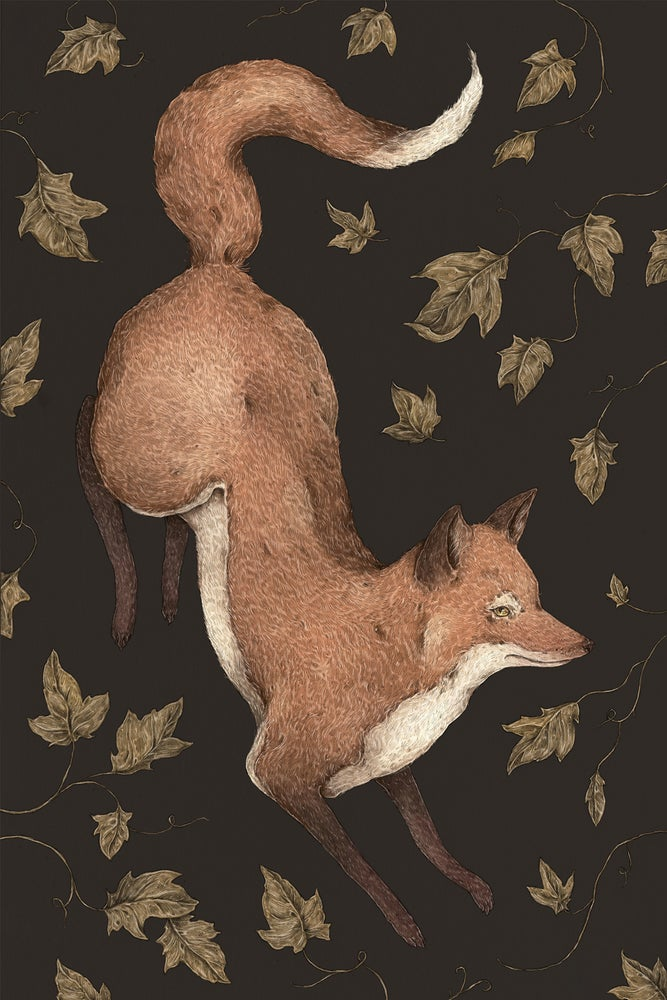 Image of The Fox and Ivy Print