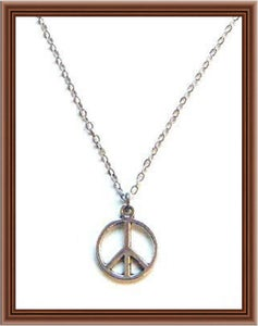 Image of Give Peace a Chance Necklace