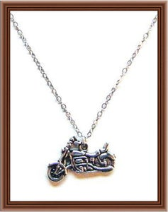 Image of Rebel Motorcycle Club Necklace