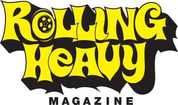 Rolling Heavy Magazine ( Vannin') die cut sticker
