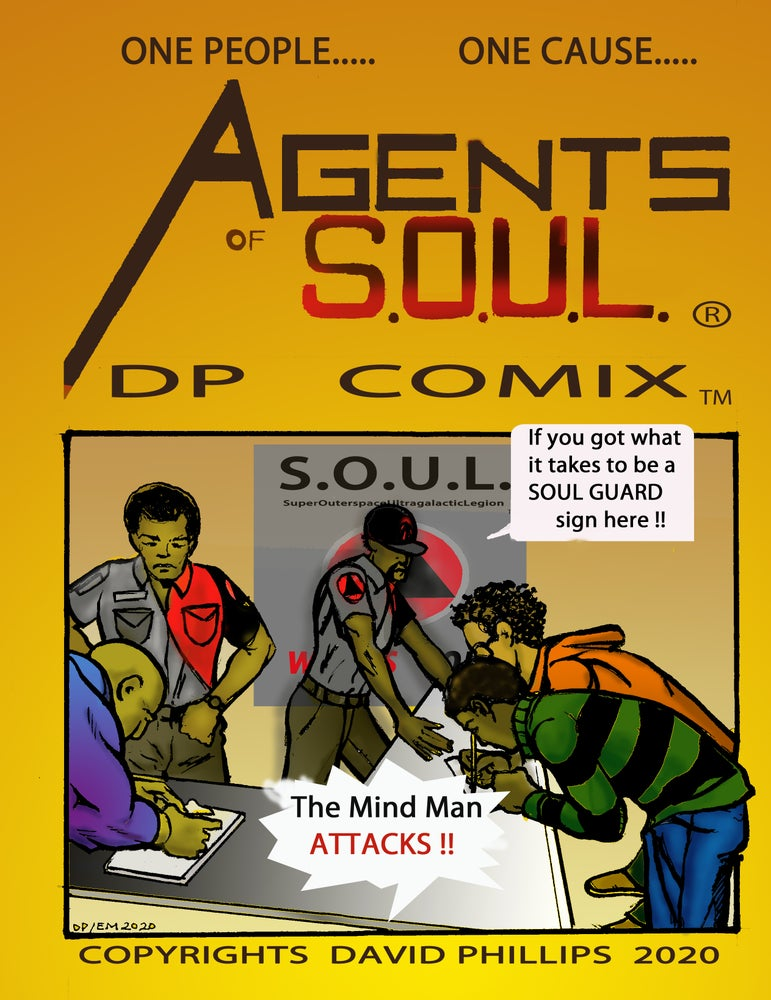 Image of Agents of S.O.U.L. #4