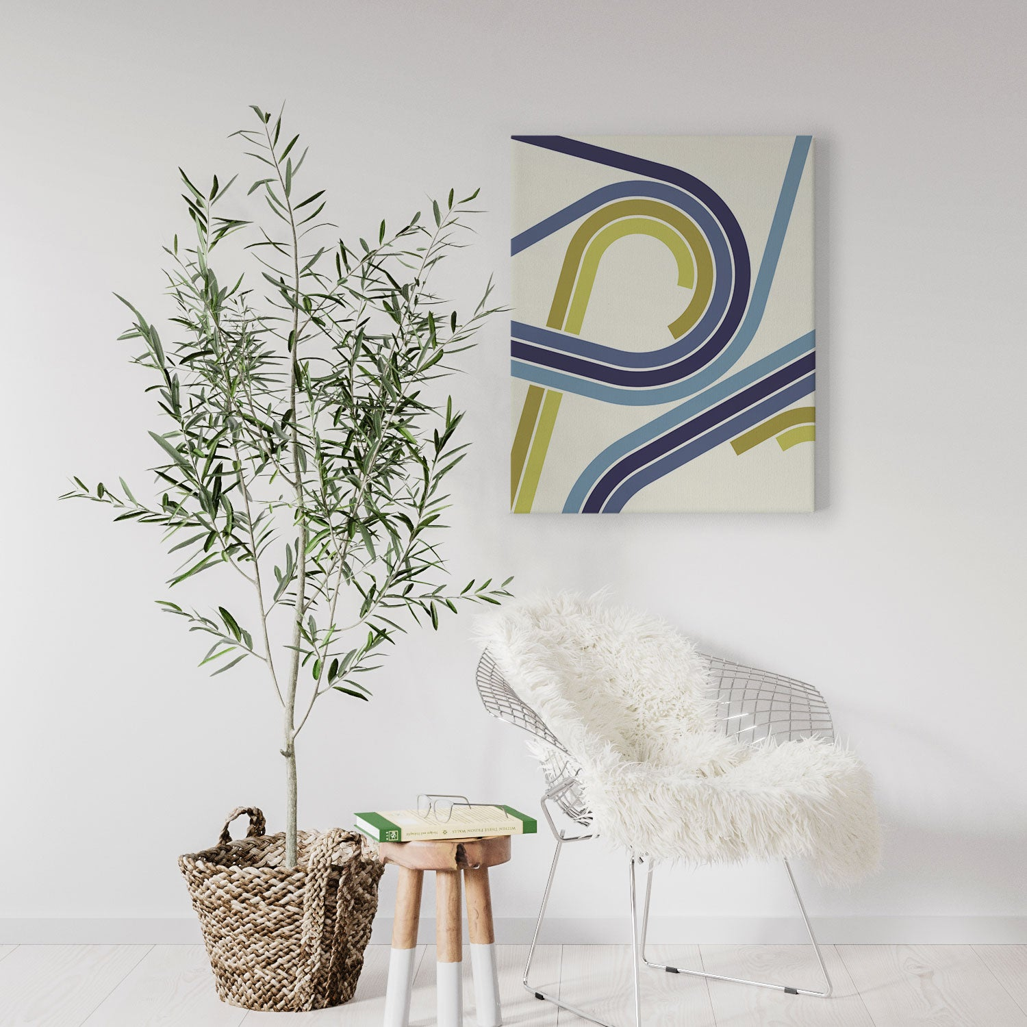 Image of Shift Repeat Canvas Print