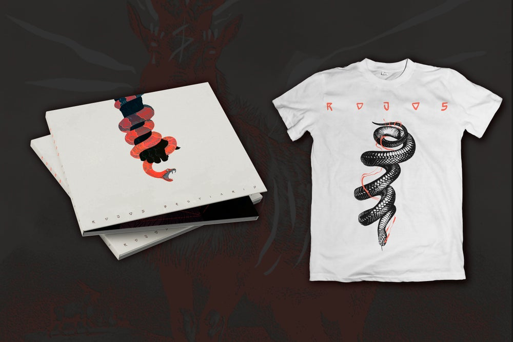 Image of CD BESTIARIO + CAMISETA BLANCA