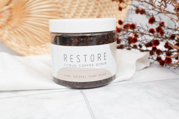 Image of Restore Citrus Coffee Scrub