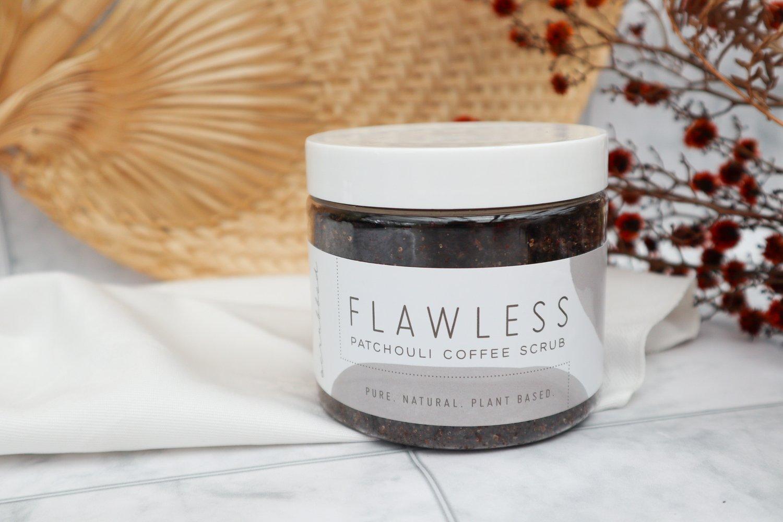 Image of Flawless Patchouli Coffee Scrub