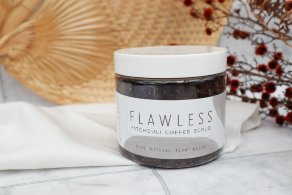 Image of Flawless Patchouli Coffee Scrub