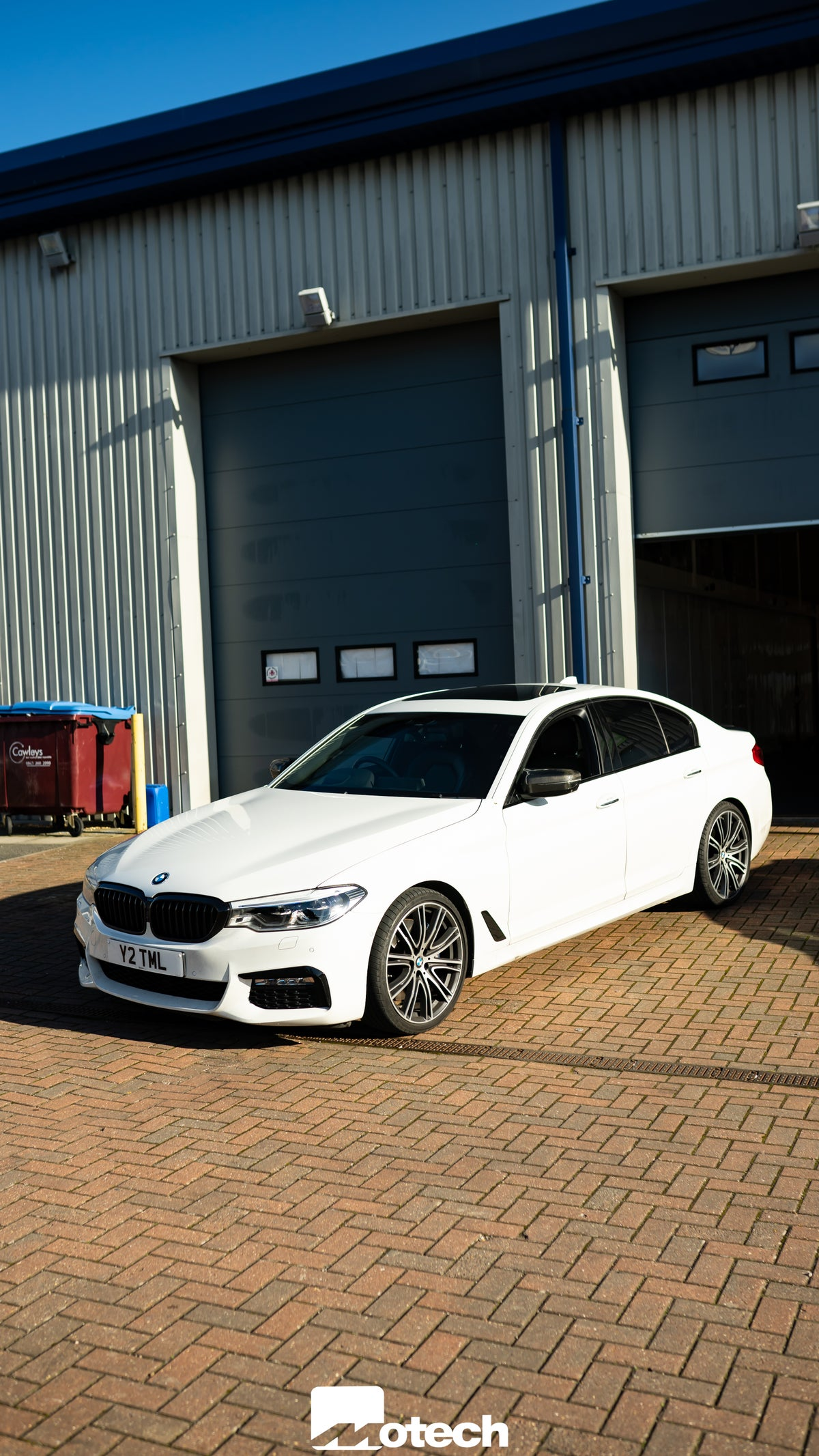 Image of BMW 540i Remus Exhaust