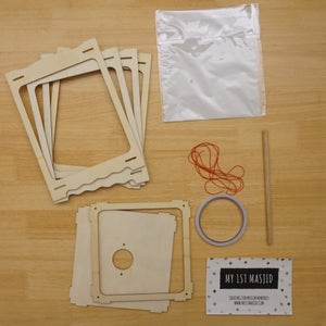 Image of Wood Lantern DIY Kit