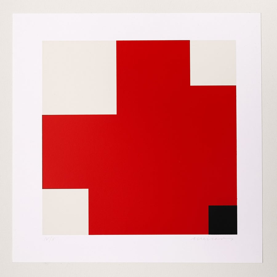 Image of Jo Niemeyer, Untitled, IV / X, red / black