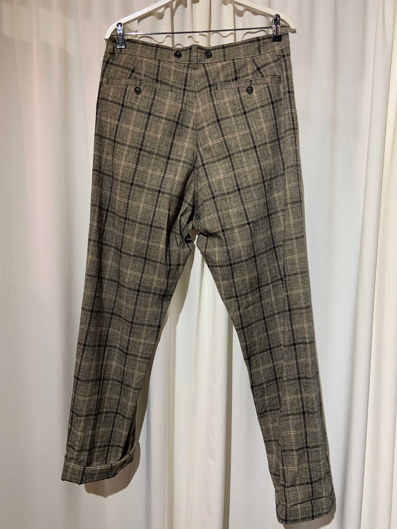 Image of HANSEN GARMENTS Sune Trousers checkered