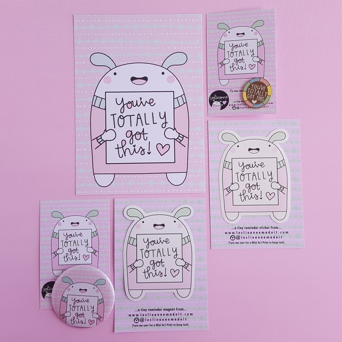 You've Totally Got This : Button Badge