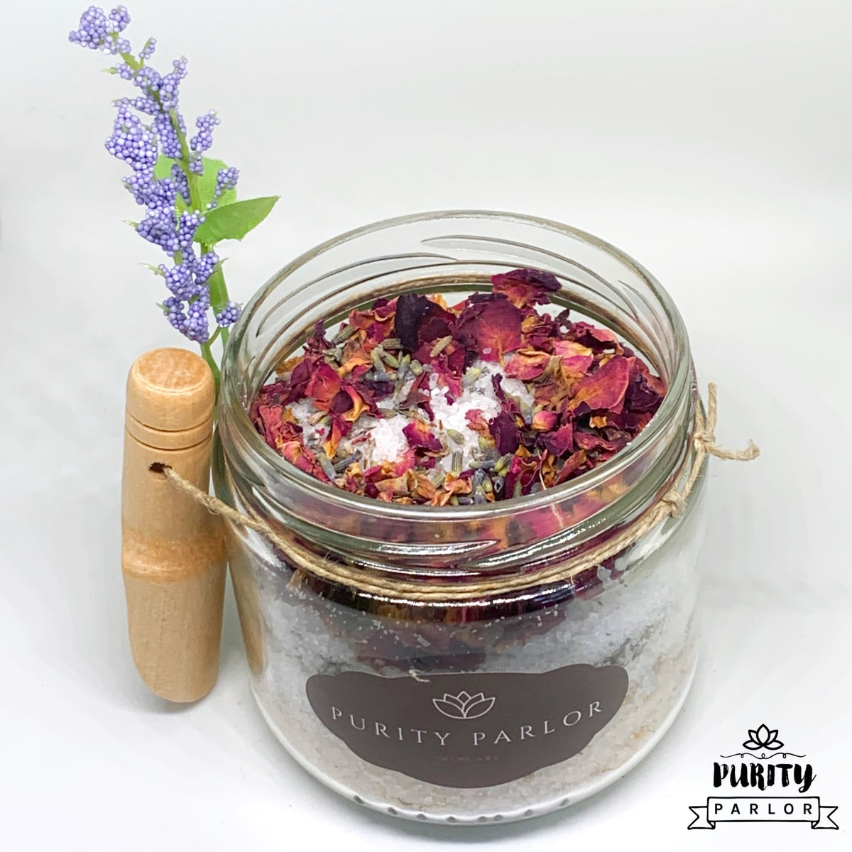 Floral Salt Treatment: Scent Lavender and Chamomile