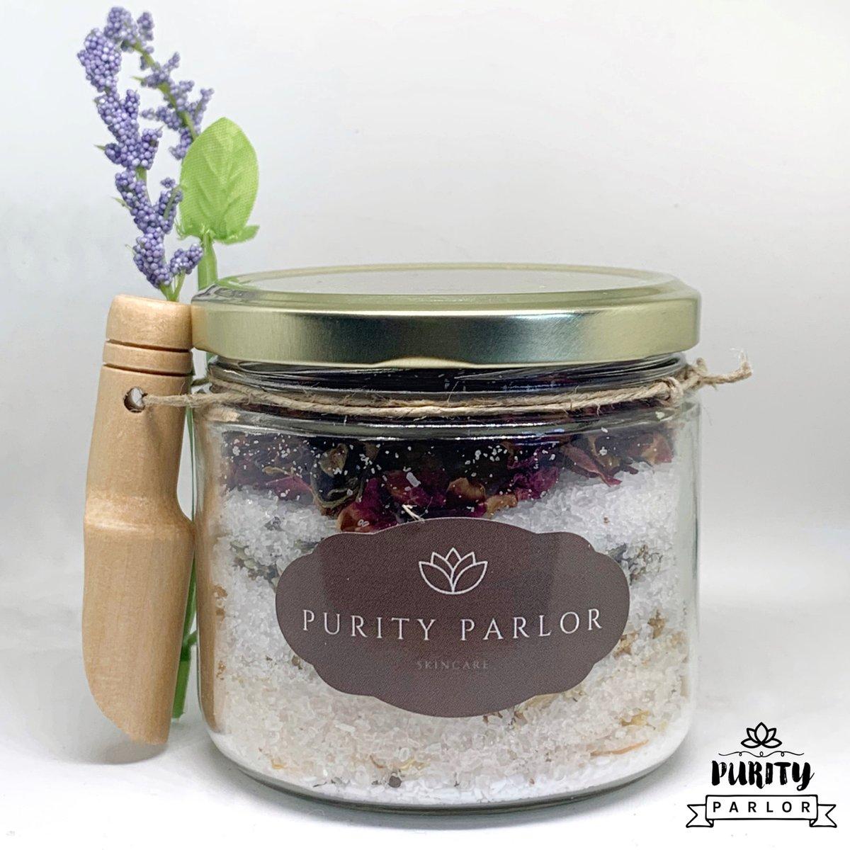 Floral Salt Treatment: Scent Lavender and Chamomile