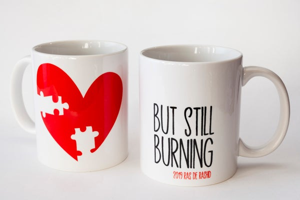 "Image of Taza ""But still burnin' """