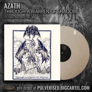 "Image of AZATH ""Through A Warren Of Shadow"" LP"
