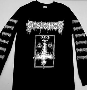 Image of Dissection - Long Sleeve T-shirt with Sleeve Prints