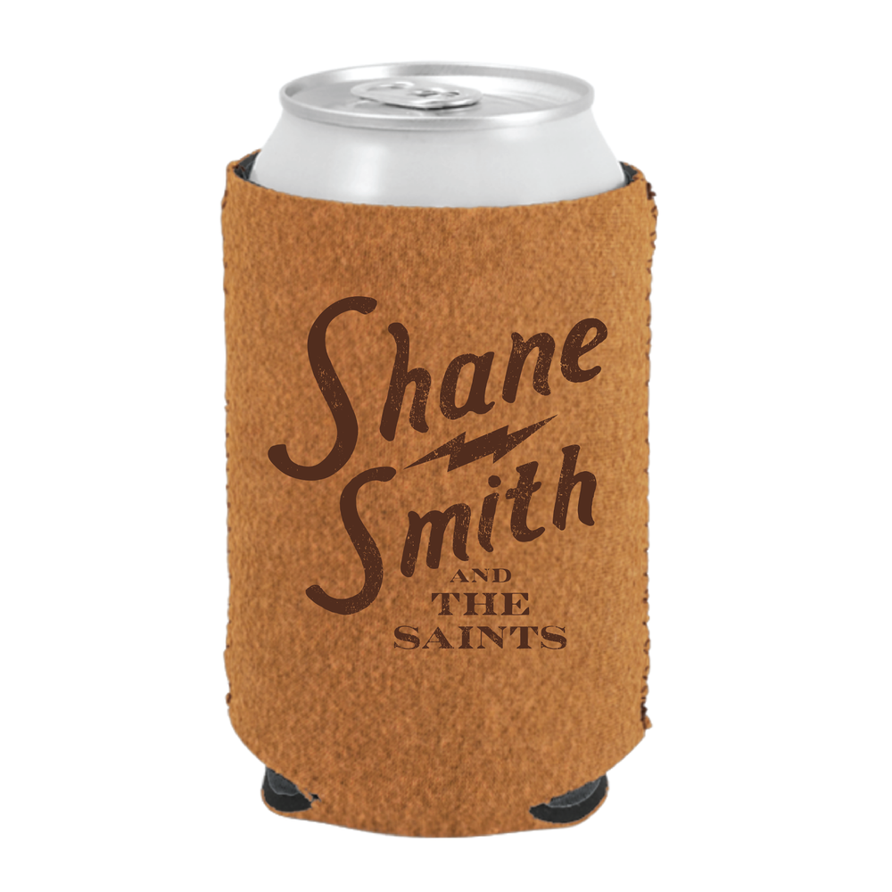 Image of Bolt Logo Sueded Koozie
