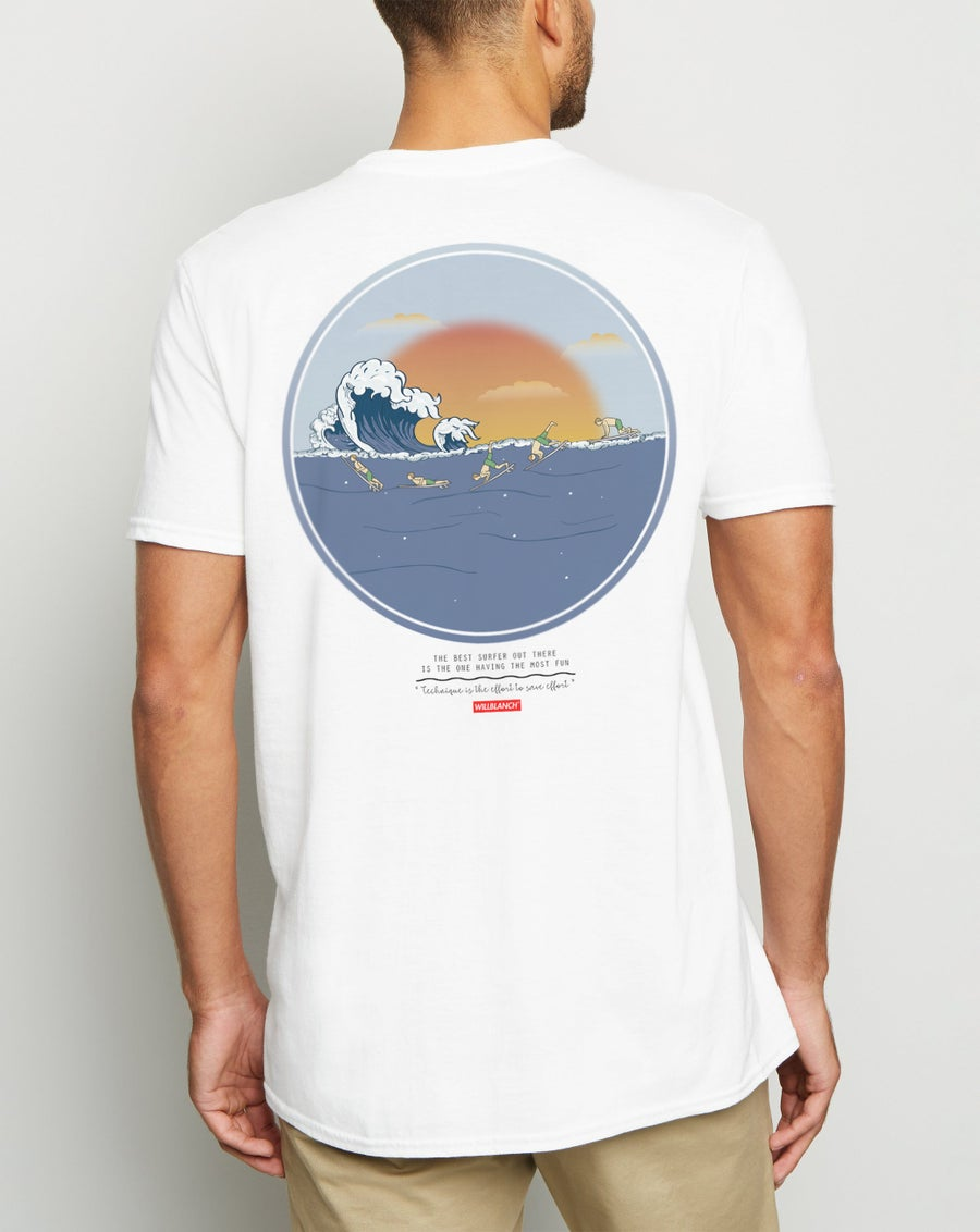 Image of THE WAVE TEE