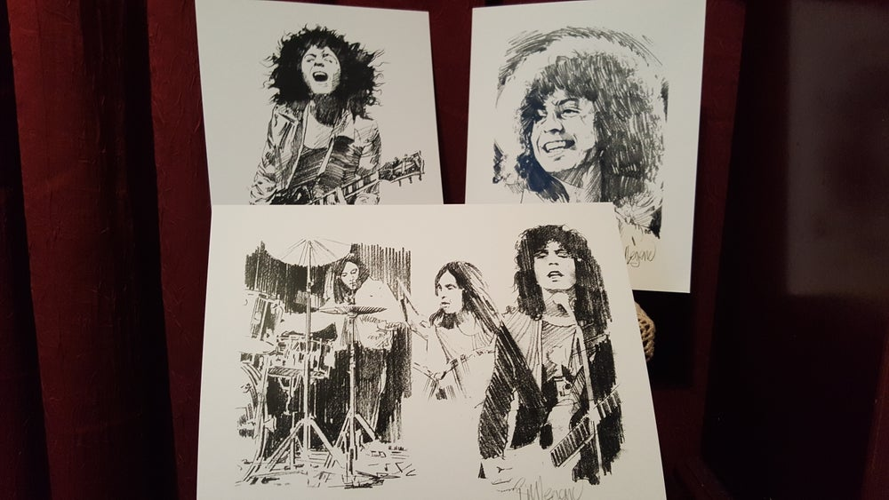 Image of All Five most popular prints/ each personally signed by Bill