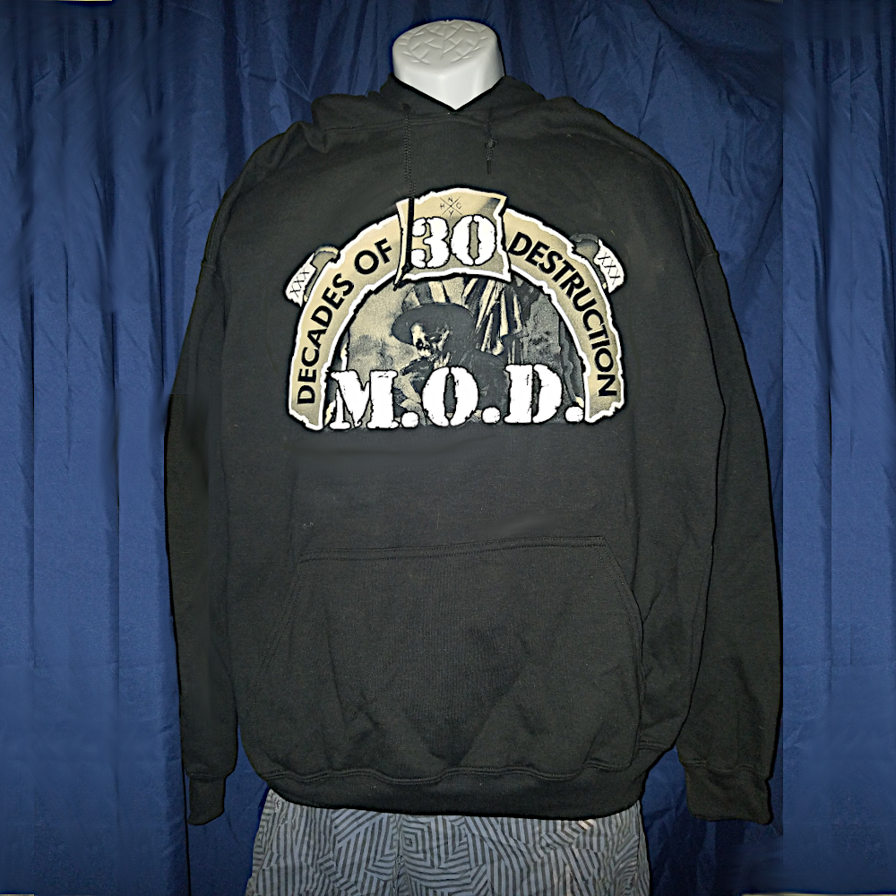 Image of MOD 'Decades Of Destruction' Pullover Hoodie