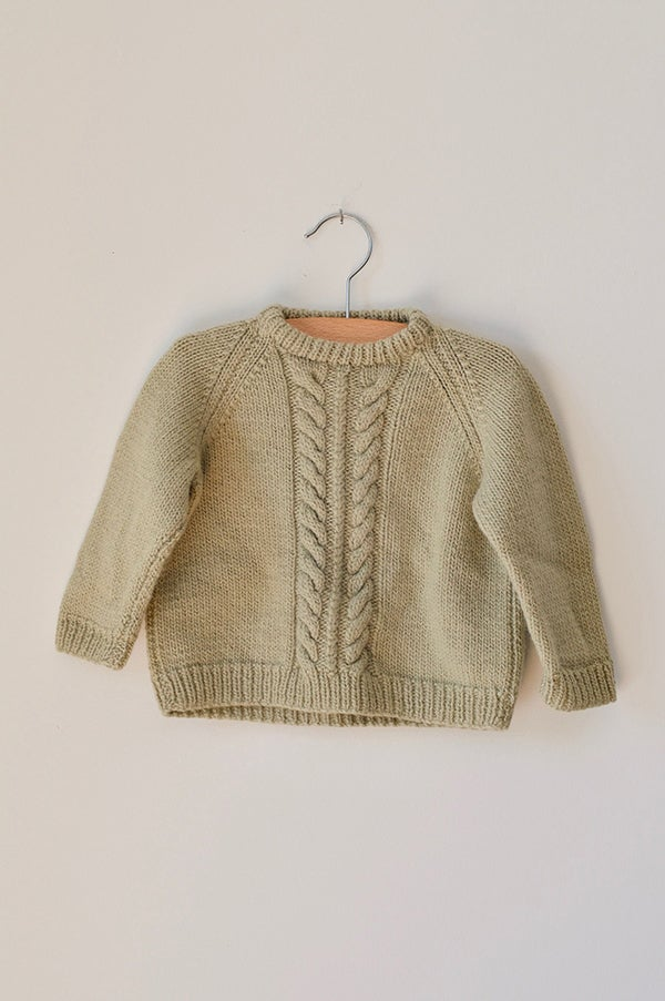 Image of Knitted Cable - Sage