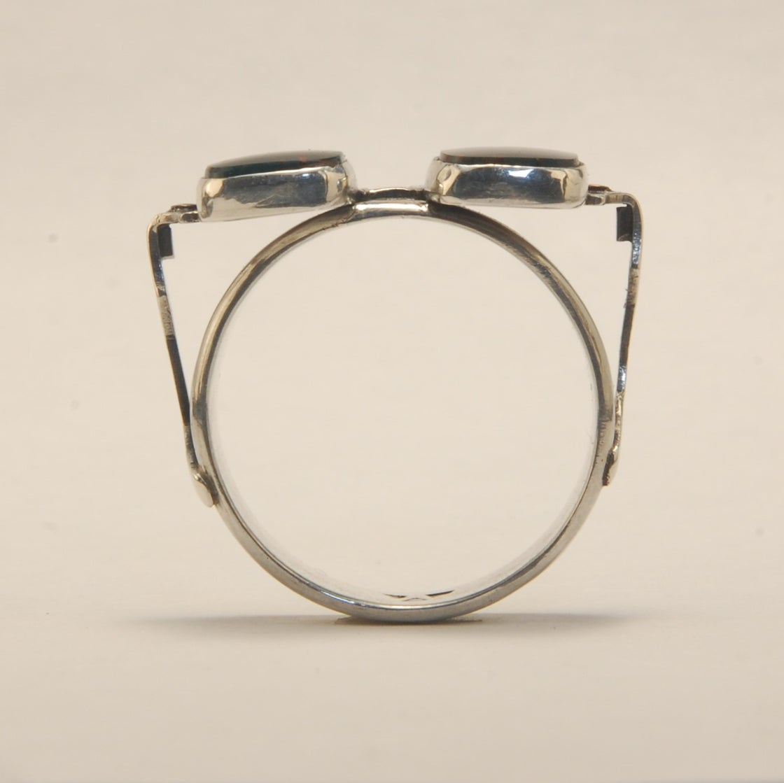 Image of Bloodstone Sunglasses Ring size 10 ¼