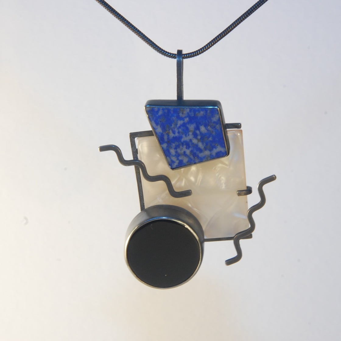 Image of Retro Square Pendant