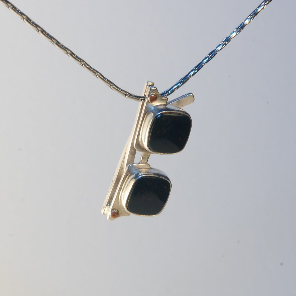 Image of Bloodstone Small Sunglasses Pendant