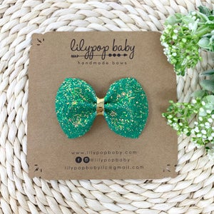 Image of Lucky Me Glitter Bow