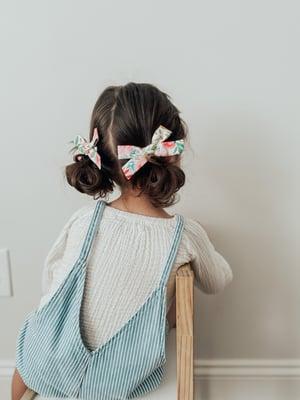 Image of Harper Fabric Pigtails (Set of 2)
