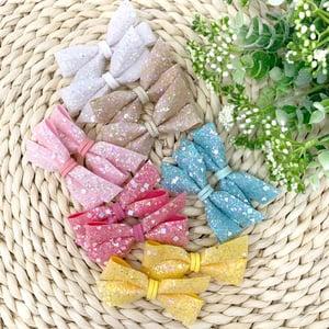 Image of Spring Glitter Pigtails (Set of 2)